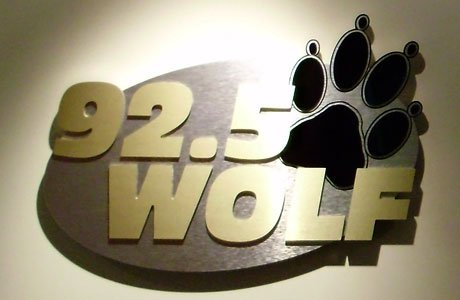 Wall-mounted Logo Interior Sign