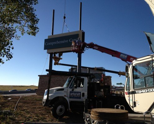 Skyridge Colorado Sign Installation