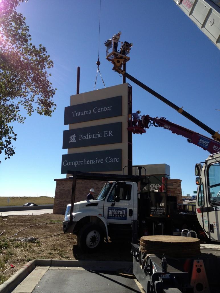 Skyridge Colorado Sign Installation