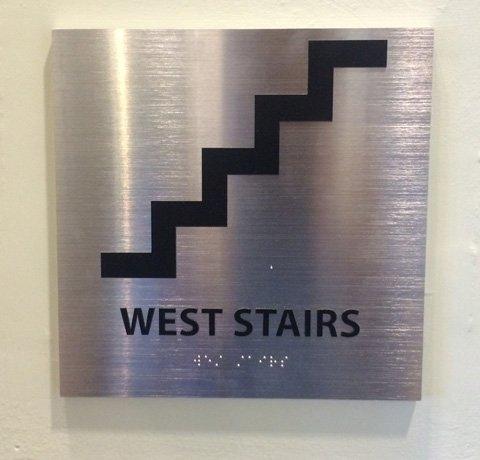 ADA Braille Interior Sign