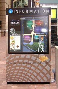 Fabricated Aluminum Kiosk Exterior Signage image