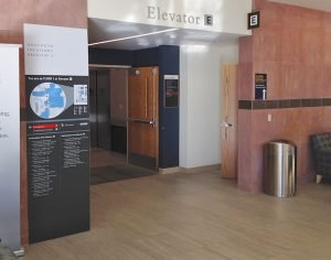 Interior Large Format Digital Printed Wayfinding Signs