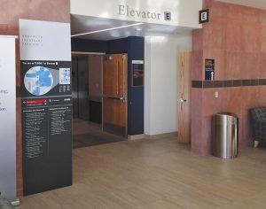 Interior Large Format Digital Printed Wayfinding Signs