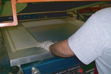 Sign Screen Printing Process