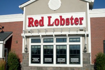 Red Lobster Colorado Sign Installation