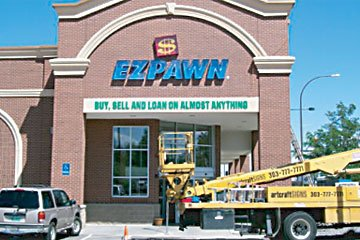 EZPAWN Colorado Sign Installation