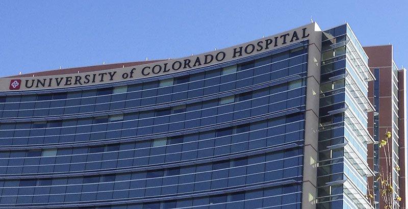 Hospital Building Exterior Signage