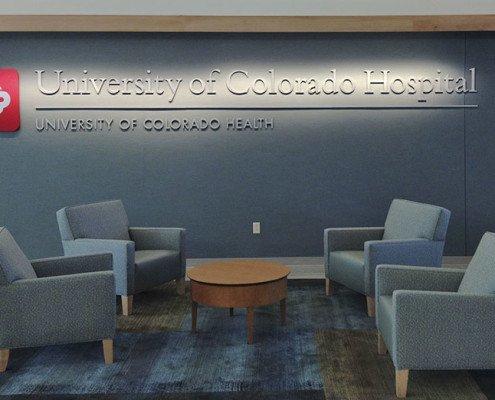 Hospital Interior Sign Installation