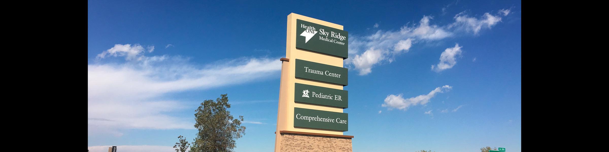 Hospital Facility-Wide Signage