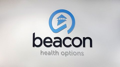 Beacon wall logo