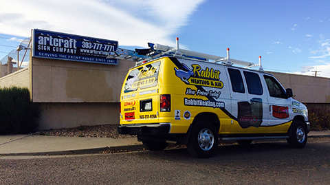 Rabbit Vehicle Wrap Graphics